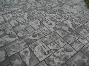 design pattern concrete patterned black grey stone slate two 2 tone tones texture close-up close up detail detailed
